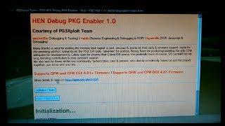 ps3 hen Super Slim OFW 4.82 Tested - PS3Xploit v3