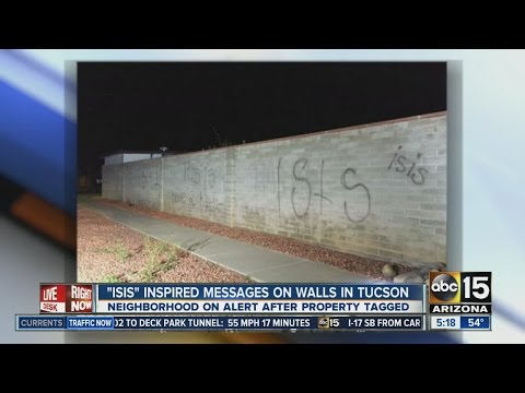 """ISIS"" inspired messages in Tucson"