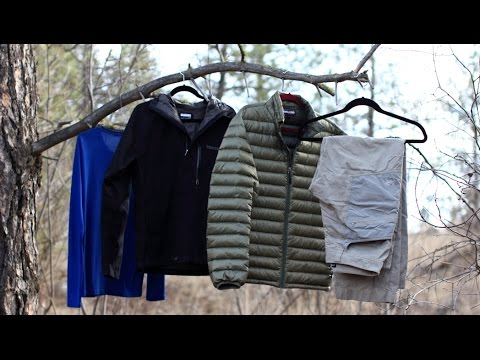 An Introduction to Backpacking | Clothing