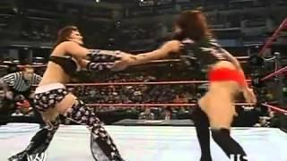 720pHD: WWE Raw 03.19.07: Melina vs Candice Michelle