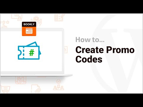 How To Create Promo Codes – Bookly Coupons Add-on