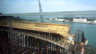 S.f Oakland Bay Bridge Under Construction  As Of 6-8-11 Hd