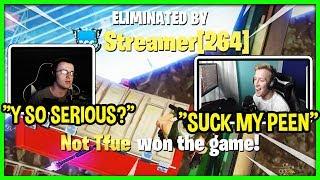 TFUE KILLS VIVID IN SCRIM GAME AFTER HE WAS TROLLING (trash talk)