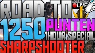 1 HOUR SPECIAL! - Road to Live 1250 Sharpshooter Punten #50 (Black Ops 2 Partymode)