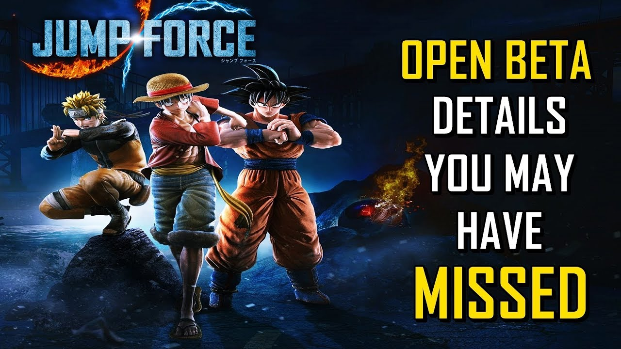 Jump Force Open Beta: Everything You Need To Know