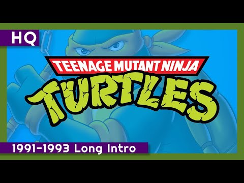 Teenage Mutant Ninja Turtles (Classic Series) (1991-1993) Long Intro