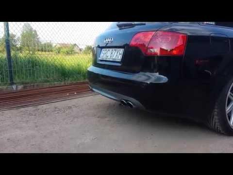 Audi A4 B7 2.0TDI S4 Exhaust Sound MOD
