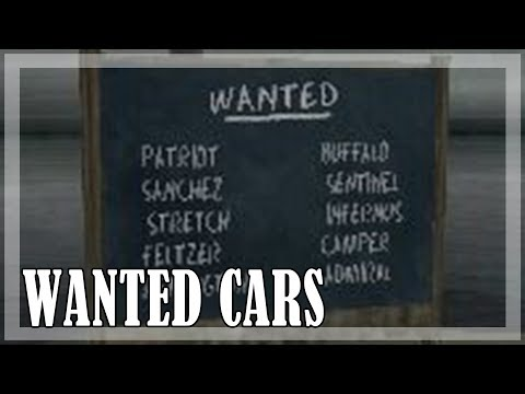 GTA San Andreas - Collecting Cars From All Lists [PC, 1080p,60fps]
