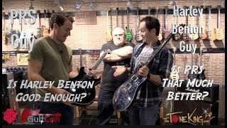 PRS vs. Harley Benton - Is PRS that much better?  Is Harley Benton good enough? GuitCon 2018