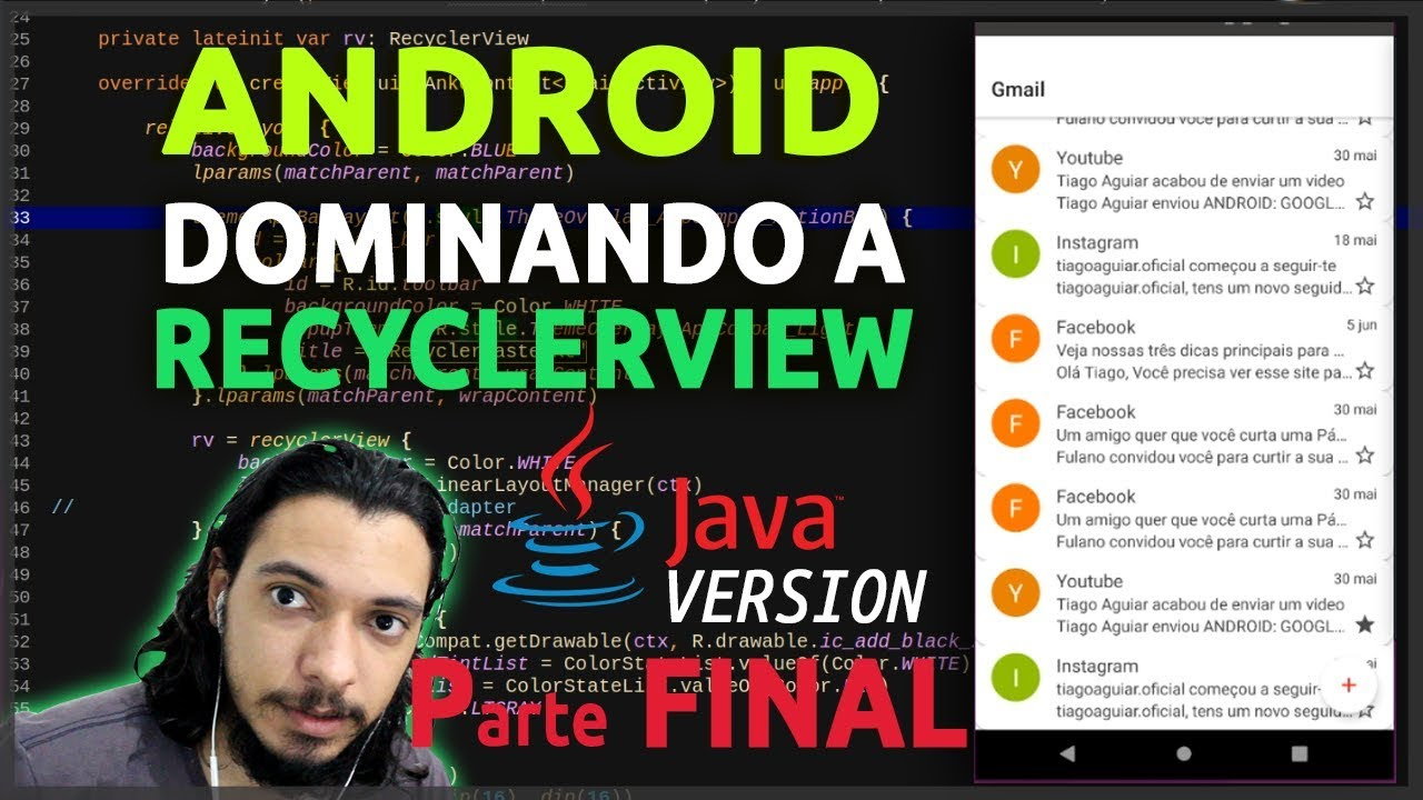 ANDROID: RECYCLERVIEW | DELETE MULTIPLE ITEMS | JAVA #6 - FINAL