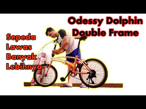 Reviu Sepeda Lipat Odessy Dolphin 2012 Sepeda Lawas Serba Dobel Banyak Lebihnya Youtube