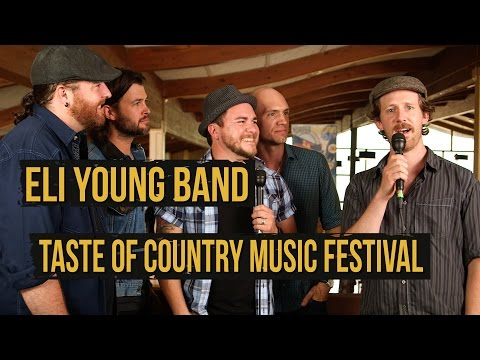 Eli Young Band Talk Music and #DadBod - 2015 Taste of Country Music Festival