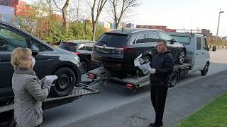 Лизинговые автомобили из Германии едут заказчикам от VNZ GmbH.