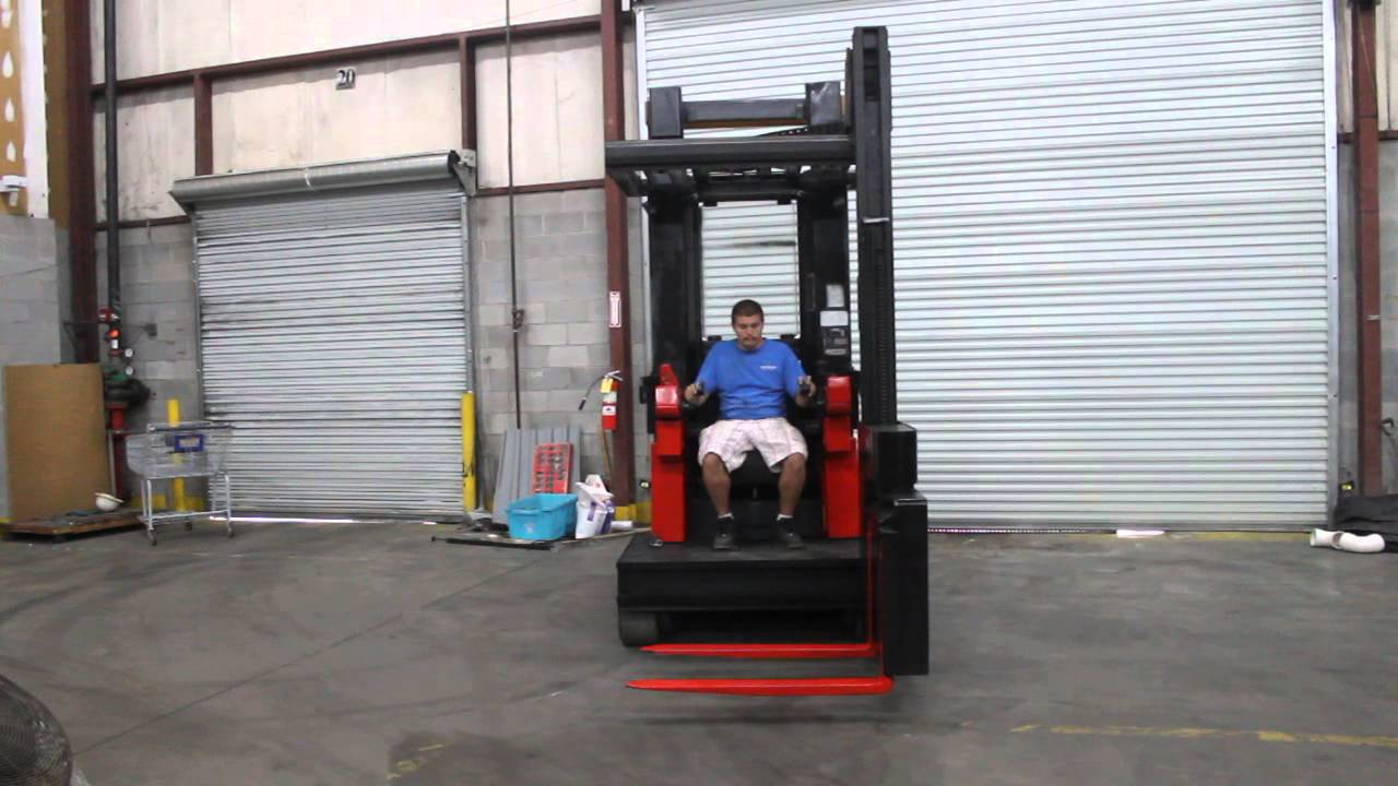 how to drive a reach truck videos