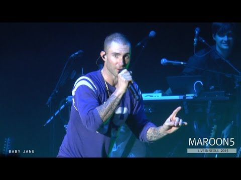 MAROON 5 - Moves Like Jagger @ Live In SEOUL, 2015 (0909)