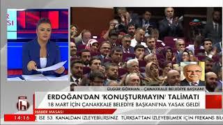 Çanakkale Belediyesi Başkanı Ülgür Gökhan'dan Erdoğan'ın sözlerine yanıt