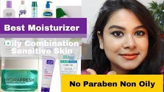 10 BEST MOISTURIZER For OILY  Sensitive Combination Skin | Best Beginners SKINCARE Routine