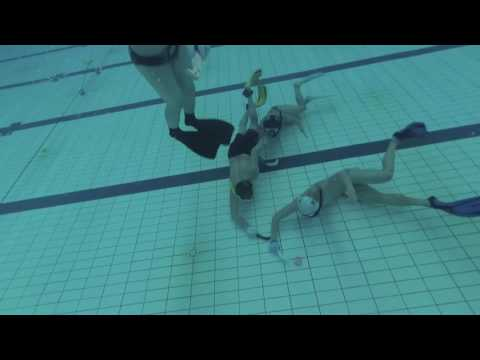 Ricky's Plays 2017/02/26 Underwater Hockey Shanghai