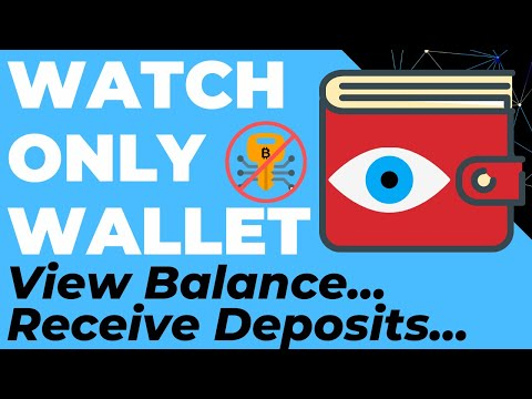Watch Only Wallet On Your Mobile (Blue Wallet Demo With Trezor, Ledger, Keepkey U0026 Electrum)