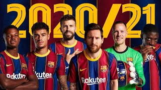 🔥 This is the 2020/21 OFFICIAL BARÇA SQUAD 🔥