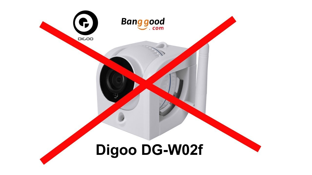 Digoo DG W02f onvif ip camera from Banggood