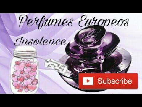 Perfumes Europeos Insolence By Guerlain Vs Original