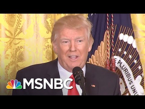 Committee Splits As President Donald Trump Warrants Scrutiny | Rachel Maddow | MSNBC