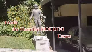 #32 The Haunted Houdini Estate, Hidden Tunnels, Statues, and Mansion! Laurel Canyon (9/12/16)