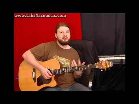 Cours de guitare : Les accords barrés pour les débutants - Partie 2