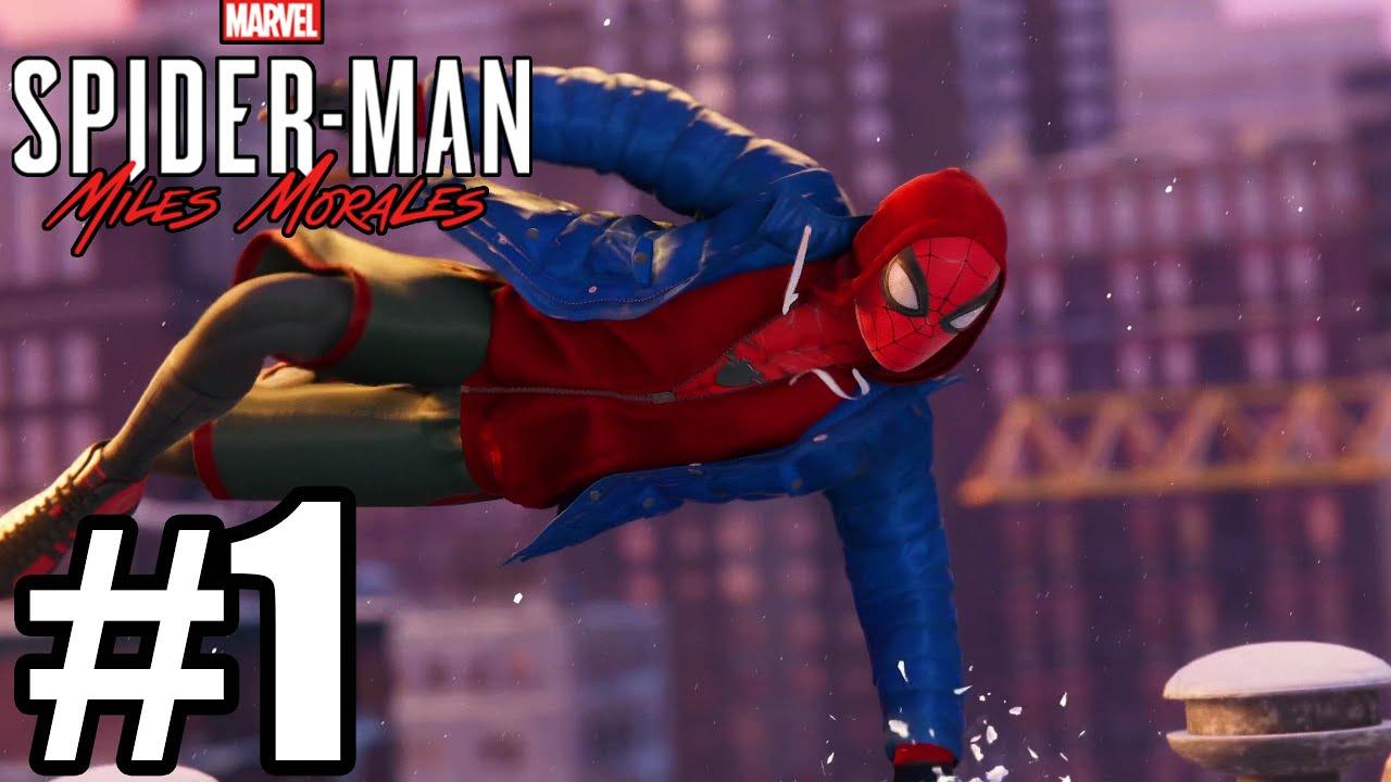 Spider-Man Miles Morales Gameplay Walkthrough Part 1