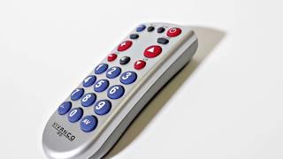 Produktvideo zu Großtasten-Universal-Fernbedienung Vivanco UR Z2