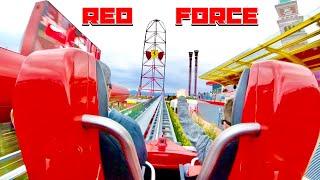 Red Force Ferrari Land POV