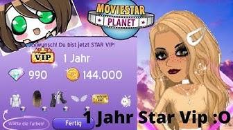 Ich kaufe mir 1 Jahr Star Vip✪MovieStarPlanet Deutsch