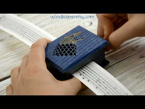 Game of Thrones cover music box