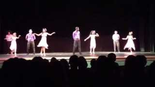 Miami Jackson Senior High School Salsa Club Dance Performance 2013! [AMAZING]