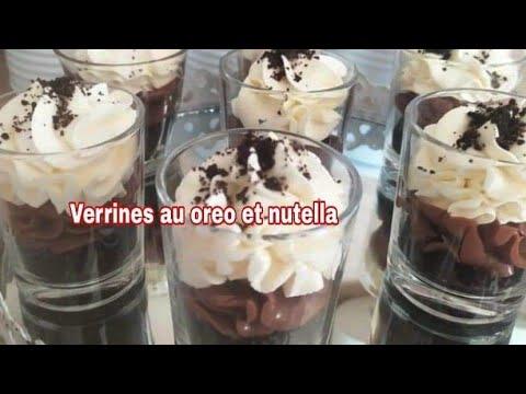 Verrine Oreo Recette Facile A Faire Youtube