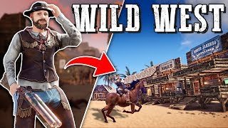 Running a WILD WEST TOWN as a SHERIFF - Rust Shop Roleplay (Part 2/2)