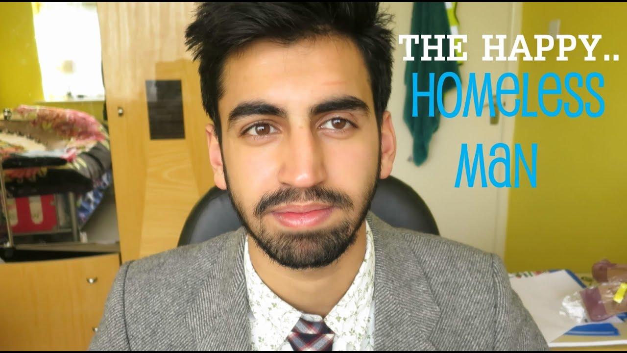 The Happy Homeless man - YouTube