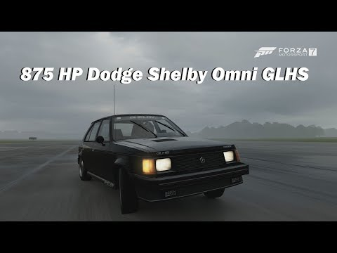 Extreme Power, No Handling - 1986 Dodge Shelby Omni GLHS (Forza Motorsport 7)