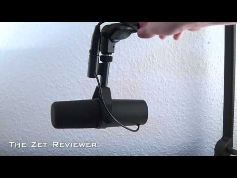 shure sm7b dynamic vocal microphone review sound demo how to save money and do it yourself. Black Bedroom Furniture Sets. Home Design Ideas