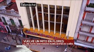 Vuelve Un Mito En Flores: Cine Gran Rivadavia