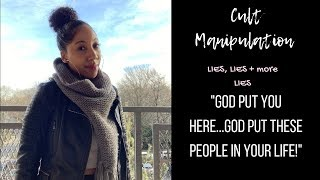 "Gambar cover Manipulation in Cults: ""God PUT you here""