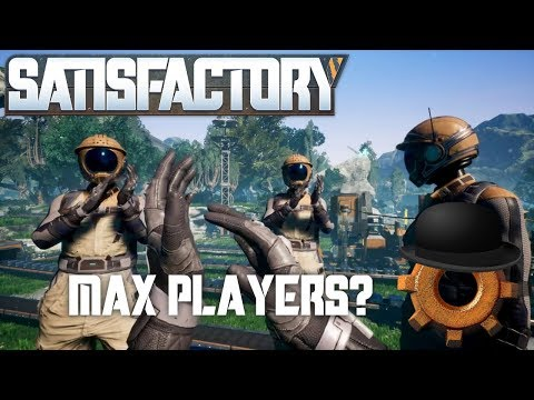 Satisfactory FOUR PLAYER