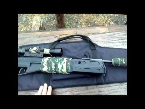 Обзор пневматической винтовки Crosman Fury II Blackout