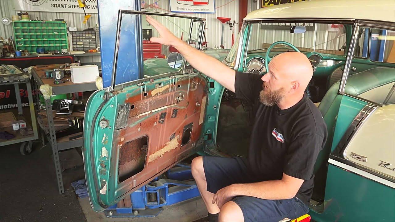 1955 56 57 2 Door Hardtop Amp Convertible Front Door Glass