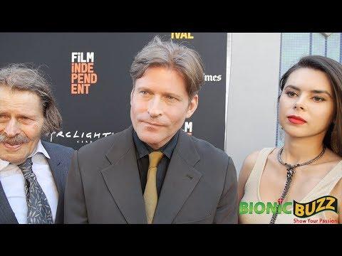 Bruce Glover, Crispin Glover & Kristina Coolish  at LA Film Festival 2018