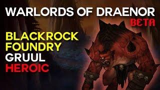 Gruul Heroic - Blackrock Foundry - Warlords of Draenor Beta Raid Test