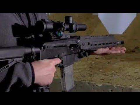 반동 작고 정확성 높은 러시아 소총 사격데모 Kalashinikov SR1 Low Recoil Assault Rifle Prototype Firing Demo