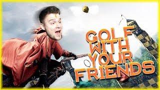 NA PODSTAWIE TEJ MAPY POWSTAŁ QUIDDITCH | Golf With Your Friends [#40] (With: EKIPA) | BLADII