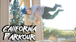 Crazy Parkour Tricks in California (Parkour, Freerunning, Tricking)